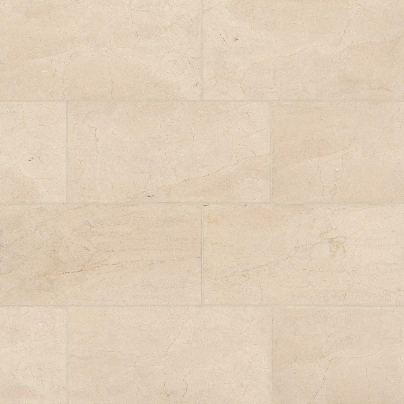 """Aymaran Cream 12"""" x 24"""" Floor & Wall Tile"""