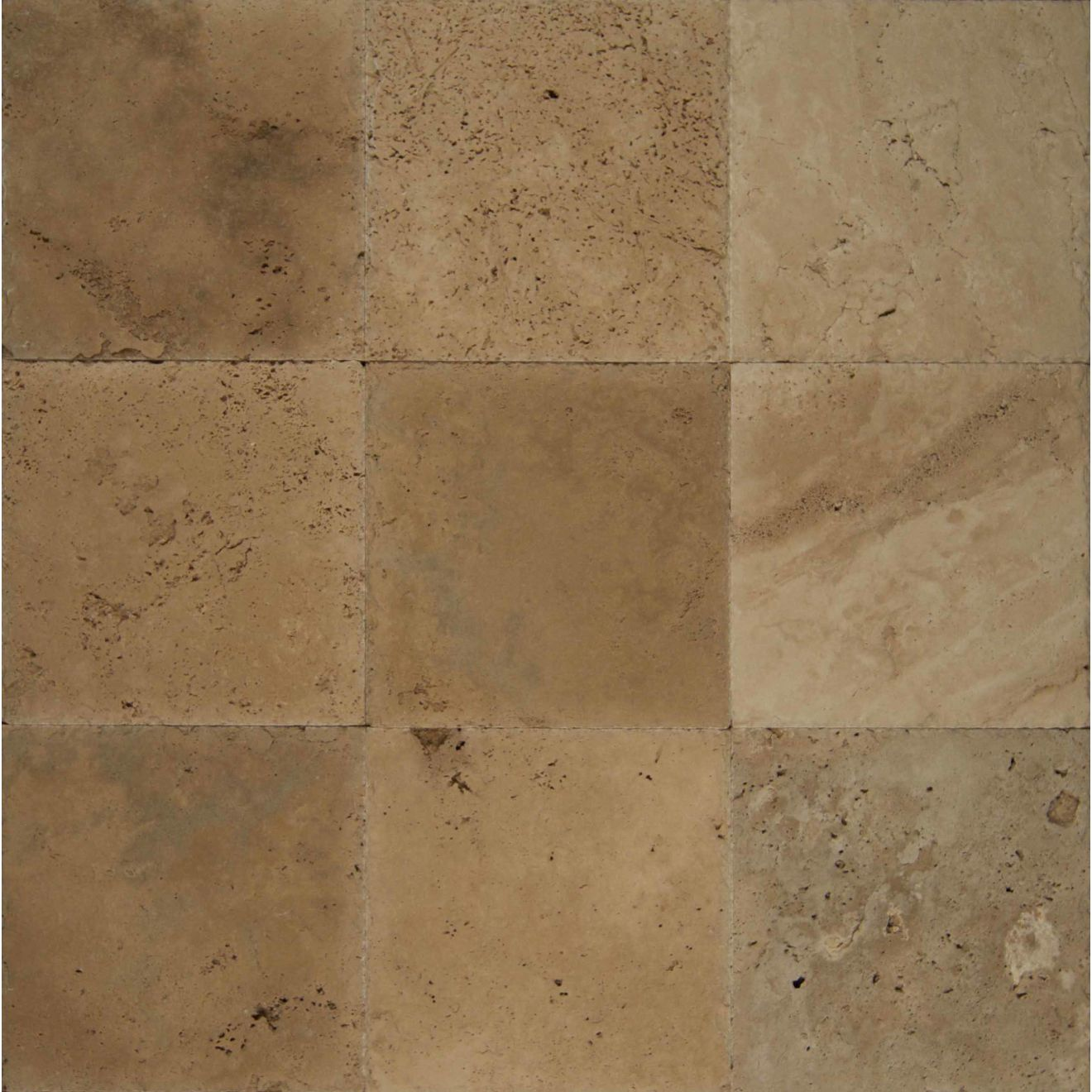 """Ivory Antique 12"""" x 12"""" Floor & Wall Tile"""