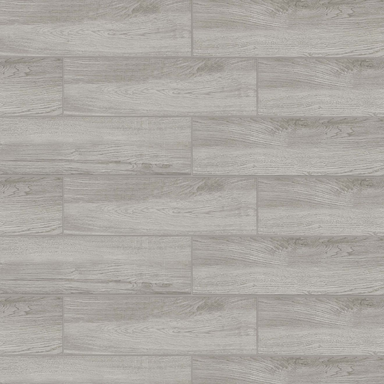 "Balboa 7"" x 24"" Floor & Wall Tile in Grey"
