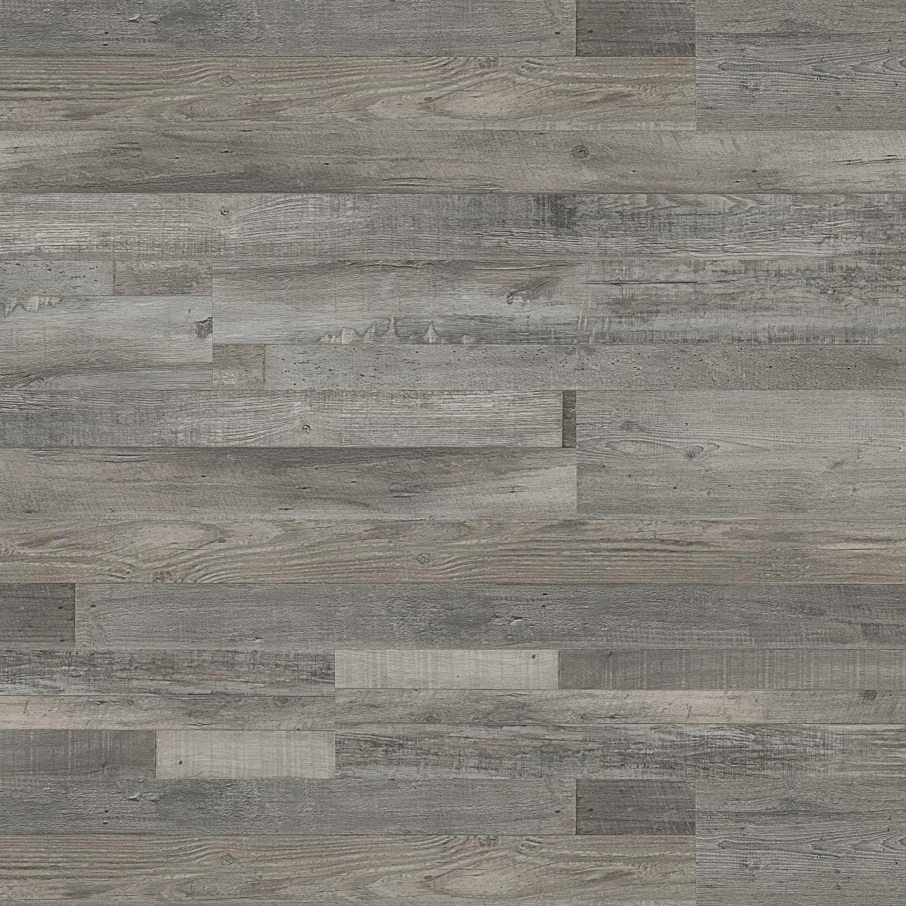"Madera 7"" x 48"" Luxury SPC Vinyl Flooring in Silver Oak"