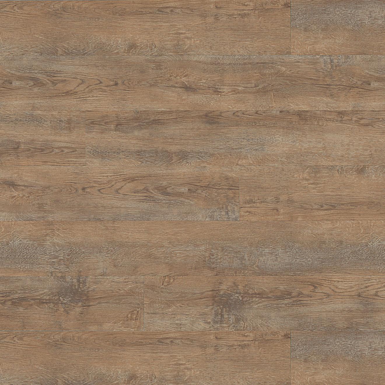 "Madera 7"" x 48"" Luxury SPC Vinyl Flooring in Tawney Oak"