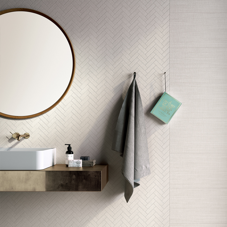 Tailor Art porcelain in Light and Plus Light and Mix Mosaics