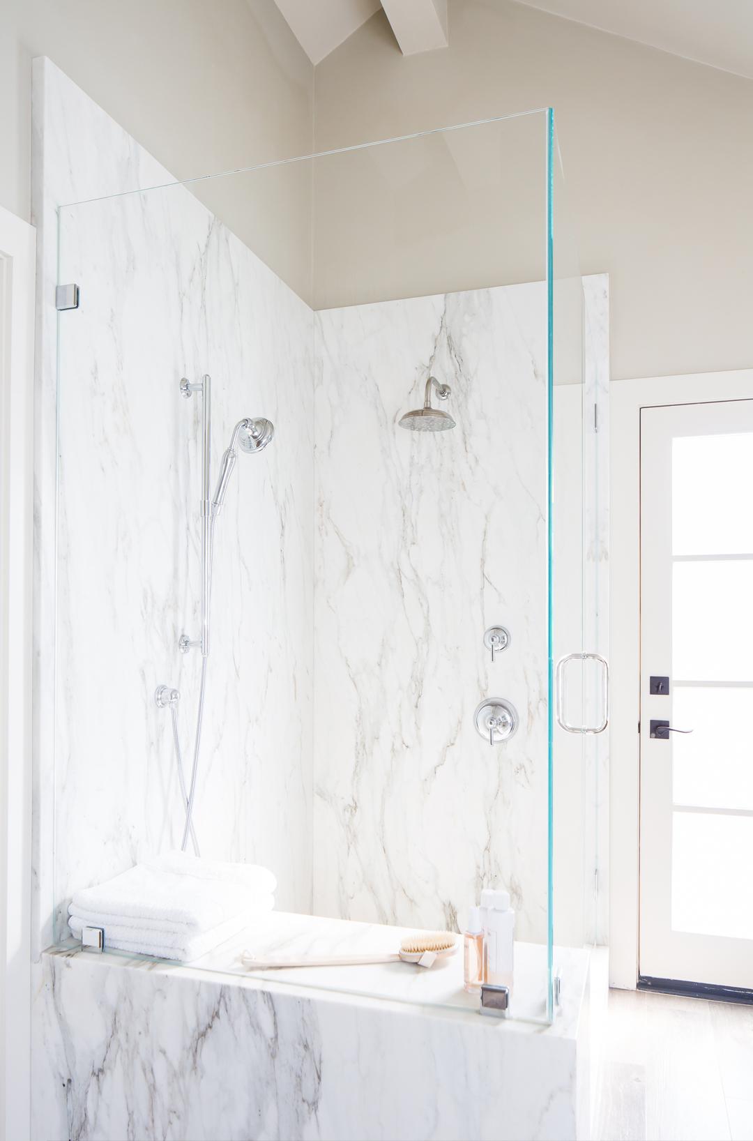 Calacatta Oro honed marble slab