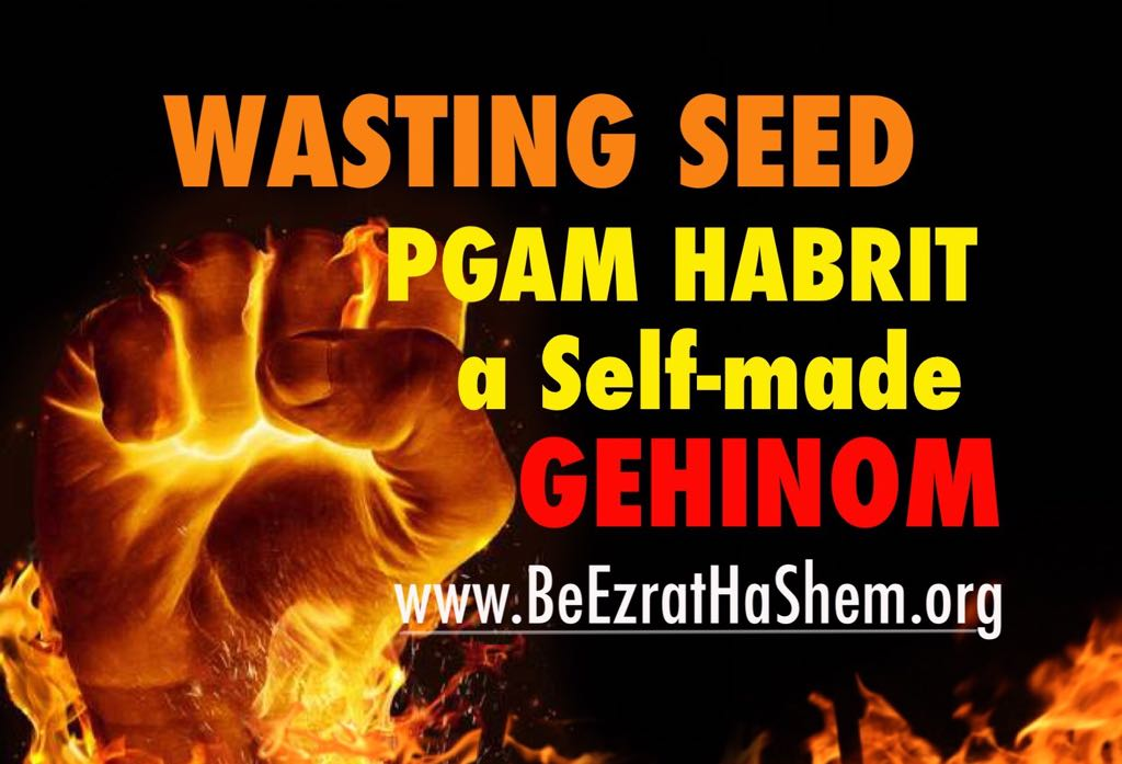 Wasting Seed is Pgam HaBrit The Self-Made Gehinom