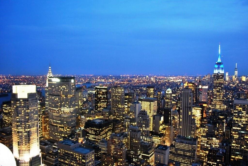 Top of the Rock, New York City, NY, USA