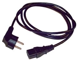 Korskopplingskabel schuko-IEC