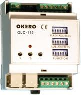 1ch. DSI / analog utgångs modul