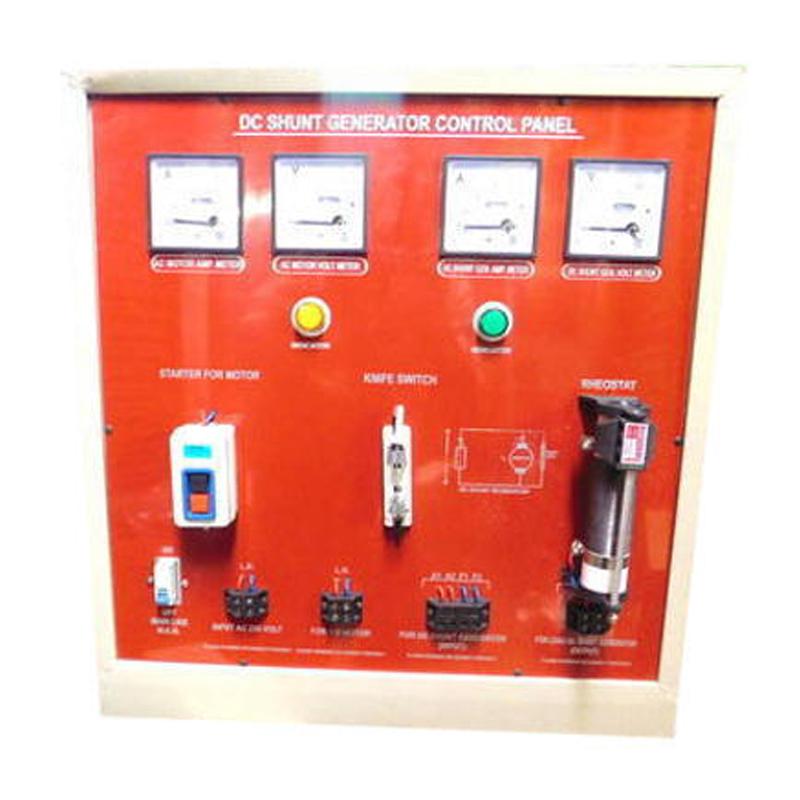 Penal of D.C. Shunt Generator