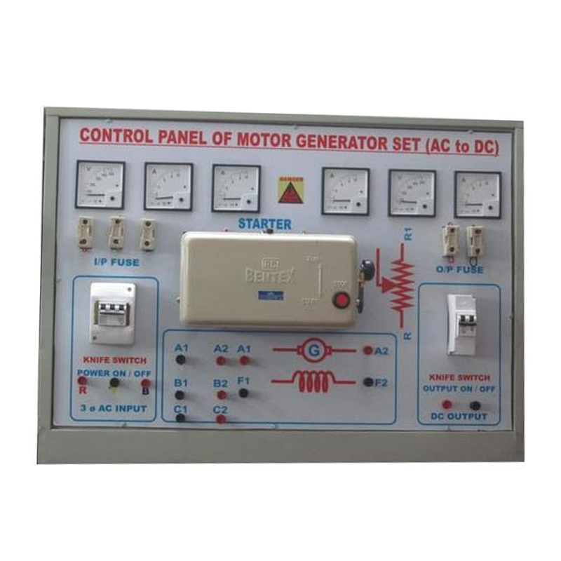 Penal of Motor Generator (AC to DC)