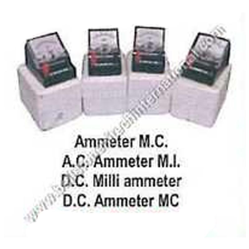 Ammeter M.C. A.C. Ammeter