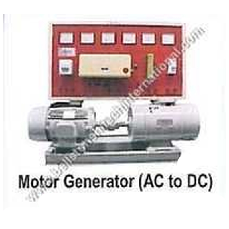 Motor Genrator (AC to DC& DC to AC)