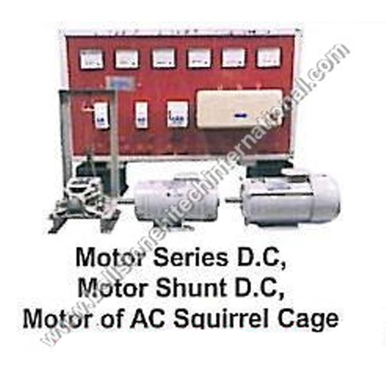 Motor Series D.C, Motor Shunt D.C & Motor to AC Squi