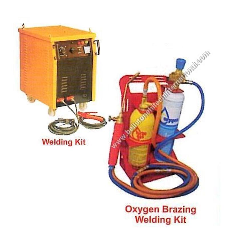 Welder with Gas Cylinder Trolley