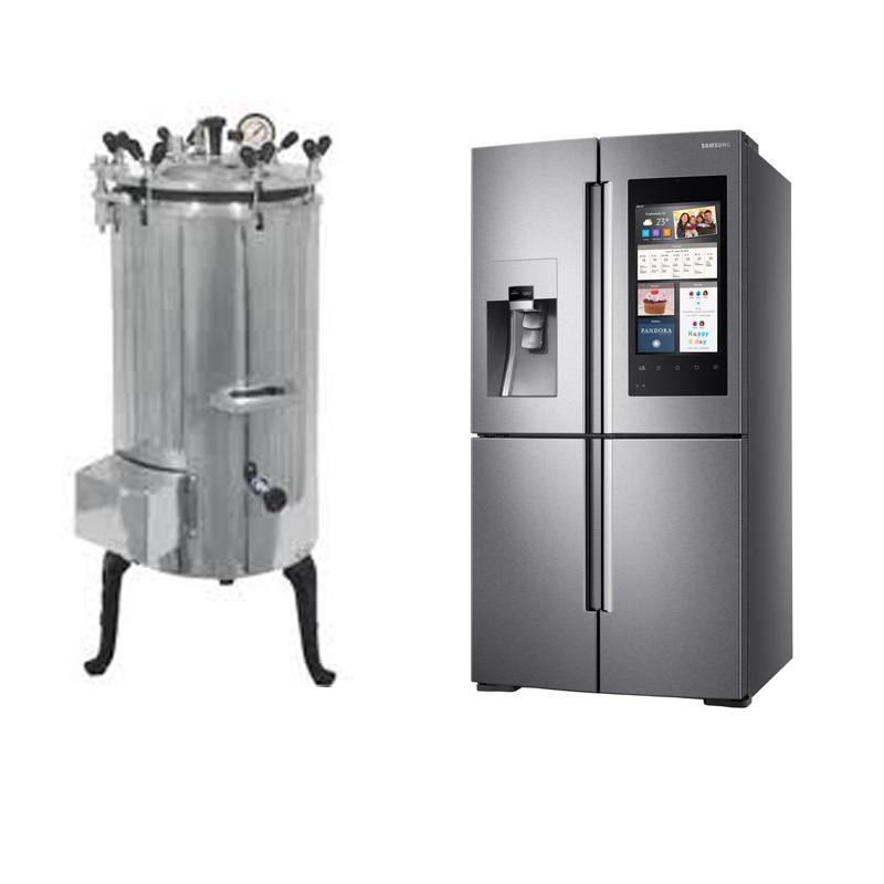 Autoclave & Refrigerator