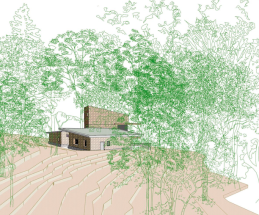 Chilworth - Proposal for Woodland House