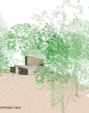 Chilworth - Proposal for House in Woodland - Low Energy