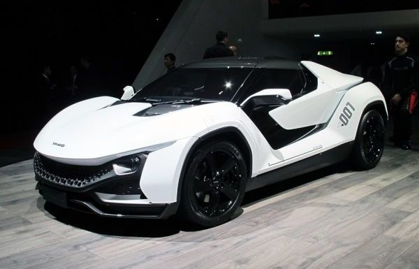 Tamo Racemo: Small Mid Engined Sports Car From India