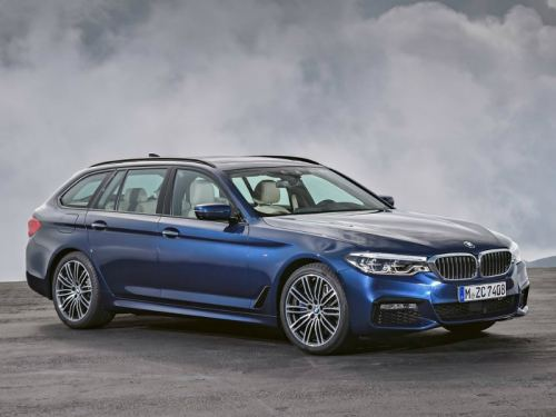 BMW introduced a new generation of station wagon 5-Series • Top Auto ...