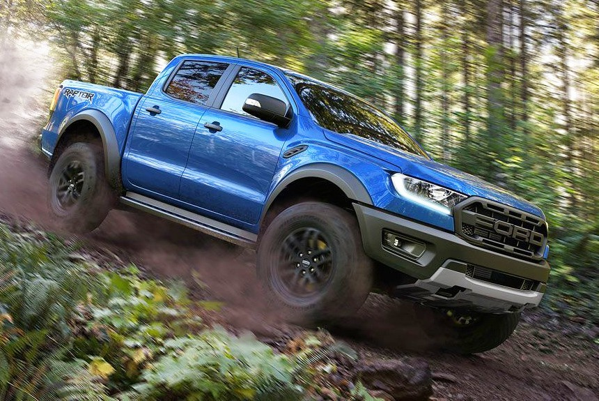 Junior predator: presents extreme pickup truck Ford Ranger Raptor • Top Auto Blog