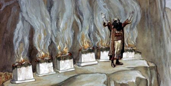 Balak and the 7 altars at Peor