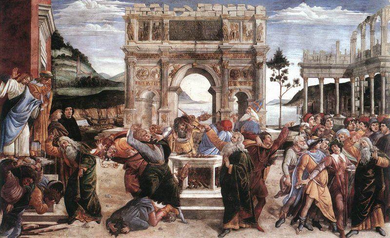 Punishment of Korah, Dathan and Abiram
