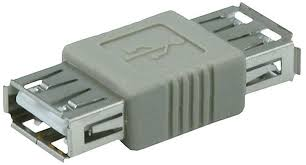 USB 2.0 A Female to A Female Coupler Adapter