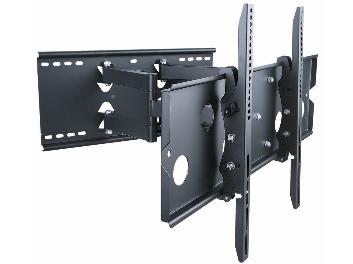 "Dual Arm Full Motion Wall Mount (Max 175 lbs, 37-86"")"