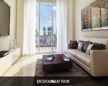 L&T Crescent Bay Parel - Entertainment Room