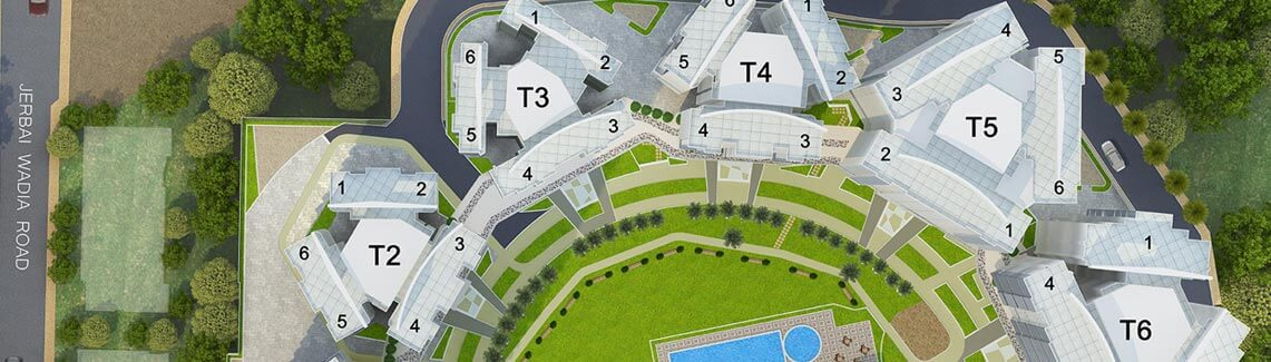 Crescent Bay Parel Site Plan