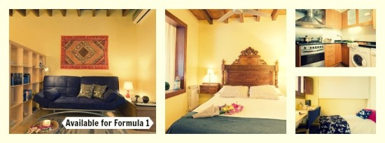 Apartment for Formula One Barcelona