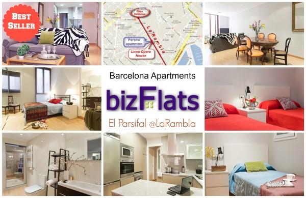 Apartment in la rambla barcelona