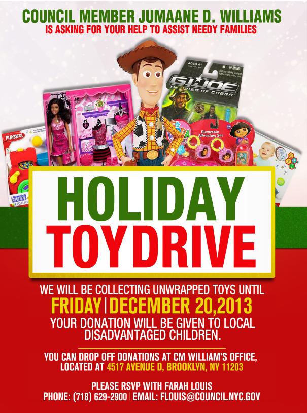 Toy Drive Flyer Template : The gallery for gt toy drive flyer template free