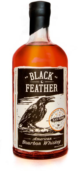 Black Feather bottle