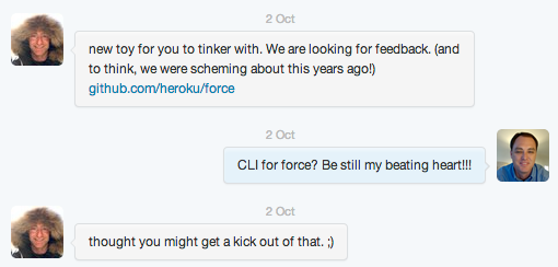 force-cli-tweet