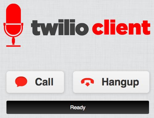 Twilio client