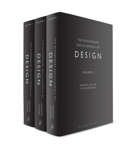 The Bloomsbury Encyclopedia of Design (cover: Bloomsbury Publishing)