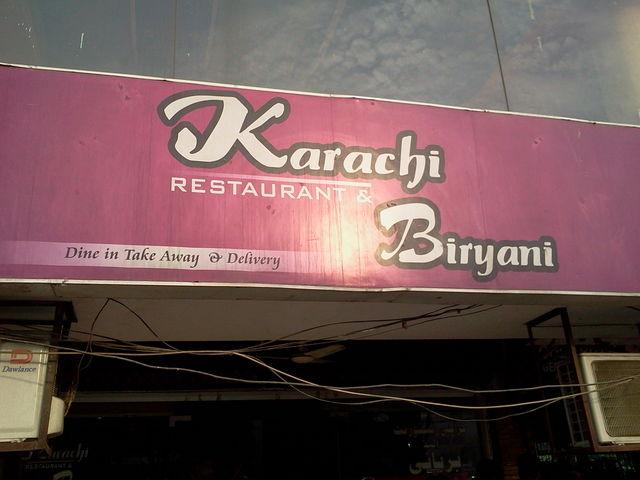 Karachi Biryani Gulberg
