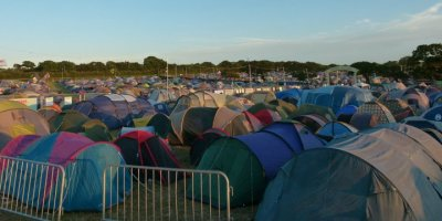 Isle of Wight Festival - Tent City