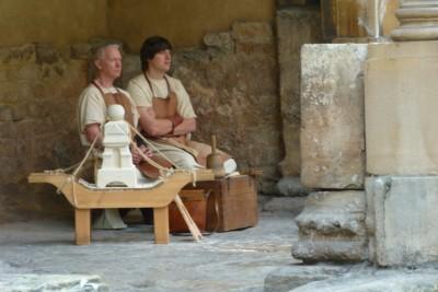 Romans at the Bath Spa
