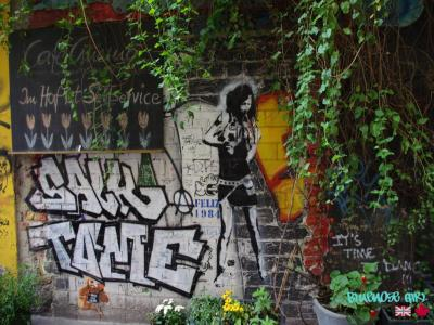 Graffiti Court Yard Berlin