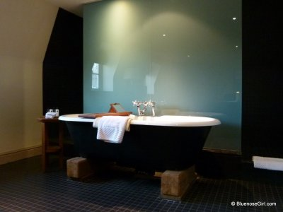 Signature Roll top tub at the du vin hotel