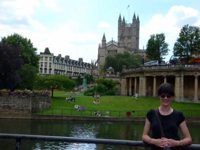 Bath Cathedral and Shannon