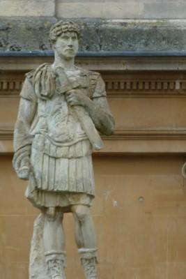 Roman Bath Spa Statue