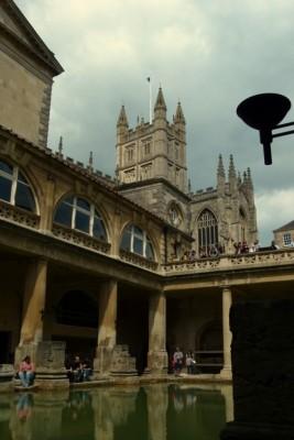 Bath Spa and Bath Cathedral