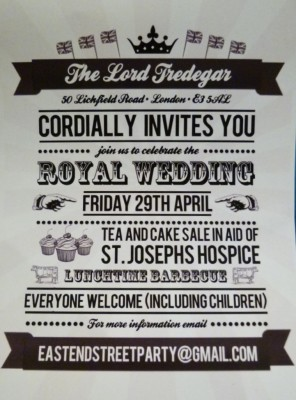 Royal Wedding Street Party