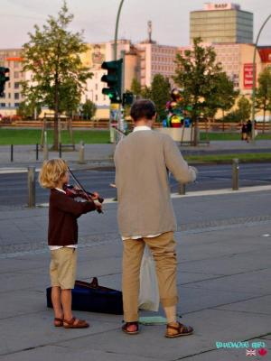 Berlin Violin Father and Son