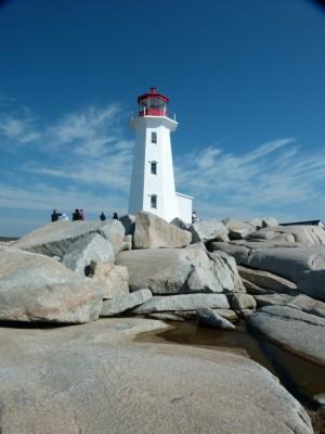 Nova Scotia, Peggy's Cove Lighthouse