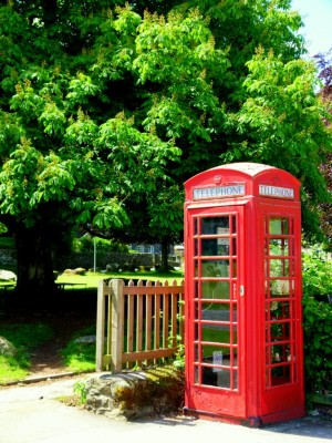 Phonebox Widecombe Dartmoor