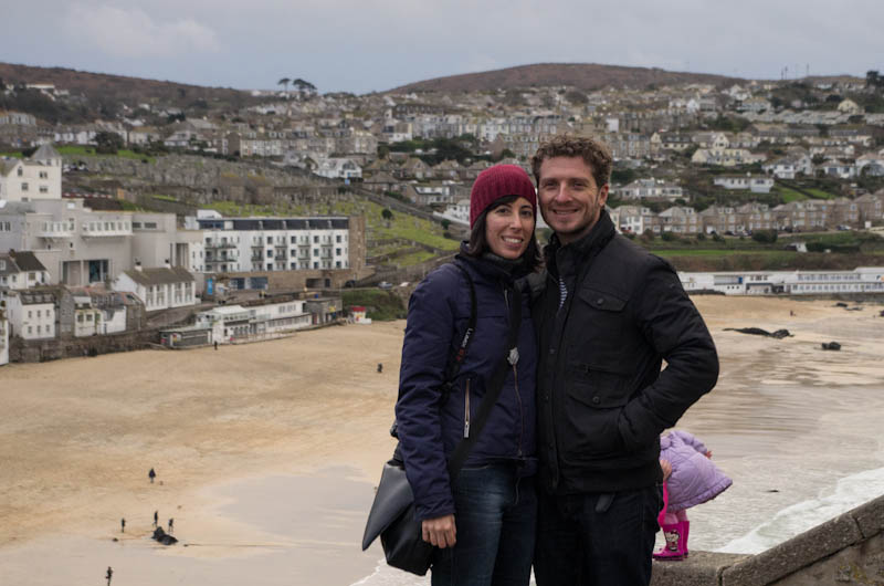 Lisa and Peter in St Ives