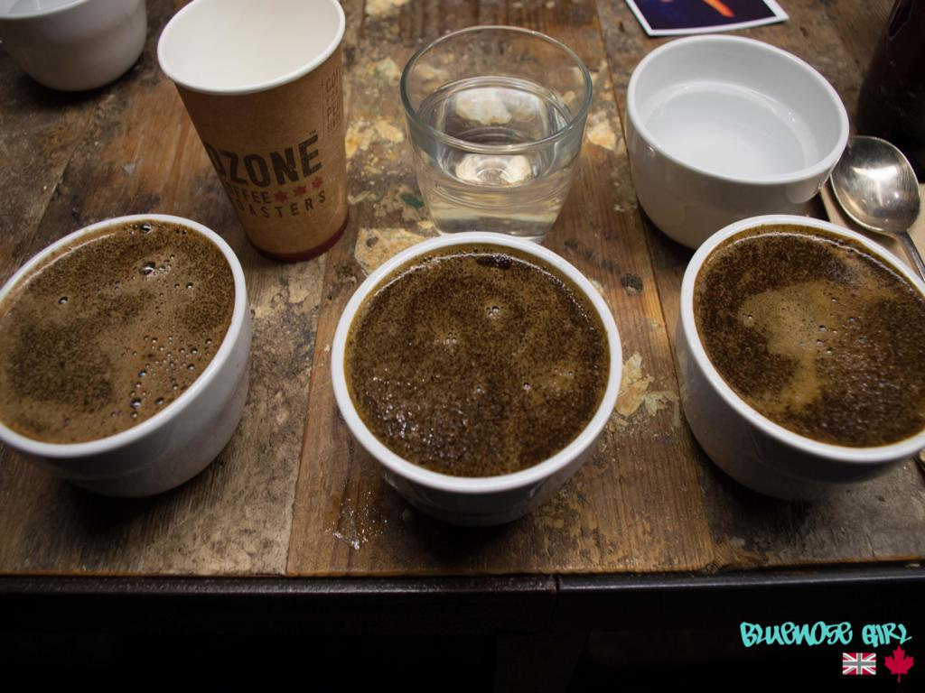 ozone coffee cupping